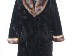 Imitatie bontjas, fake fur coat, Olympia Ltd. Inc fur coat,