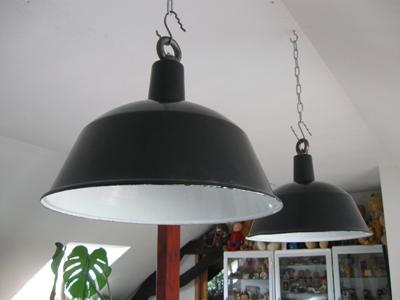 emaille lampen hongarije oude stock nieuw no 013. Black Bedroom Furniture Sets. Home Design Ideas