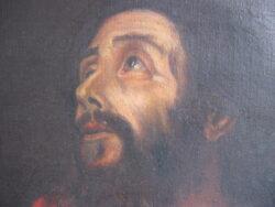 Olieverf op doek religies schilderij Apostel Jezus figuur