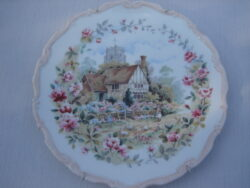 Royal Albert bone china England wandbordje The cottage garden year series 1984, Summer.