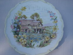 Royal Albert bone china England wandbordje The cottage garden year collection Spring 1984.