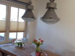 Oude hanglampen