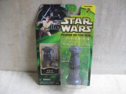 Star Wars FX-7 Medical droid, Power of the Jedi, 2001 Hasbro. Nieuw in verpakking, onbespeeld.