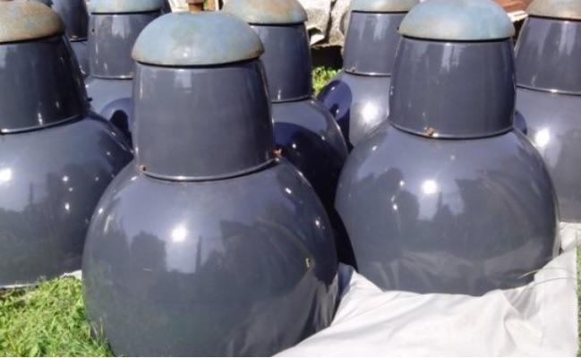 Oude Industriele Lampen : Industriele lamp hongarije no landzicht houtsberg