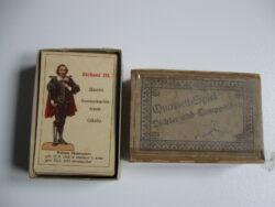 antiek kwartetspel eind 19e eeuw