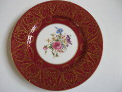 Royal Worcester wandbord, Royal Worcester Engeland, Royal Worcester bord, Royal Worcester porselein,
