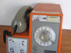 Vintage munttelefoon Bell ITT CNC 2400, vintage munttelefoon