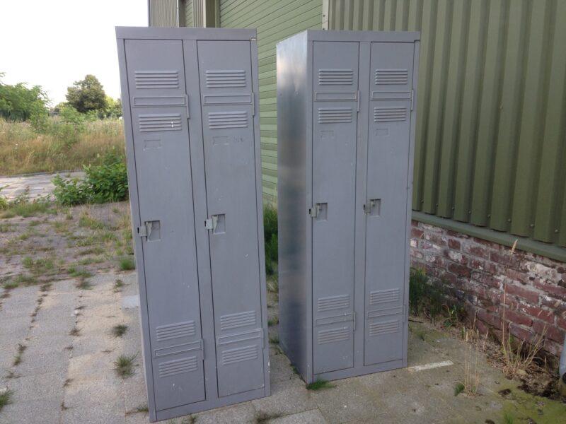 Industriele Metalen Kast : Industriele locker metalen kast 2 deur ...