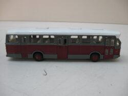 Lion car toys citybus DAF vintage jaren 60. Helemaal compleet alle deurtjes zijn aanwezig, zonder doosje, licht bespeeld.