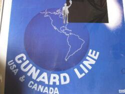Francis Bernard Canard Line USA & Canada travelposter replica jaren 90