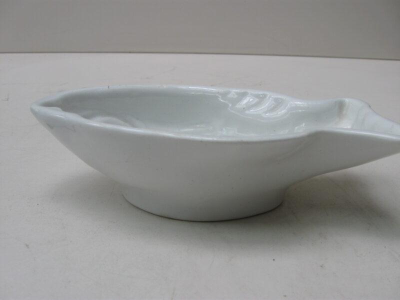 Societé Ceramique Maestricht puddingvorm porselein vis