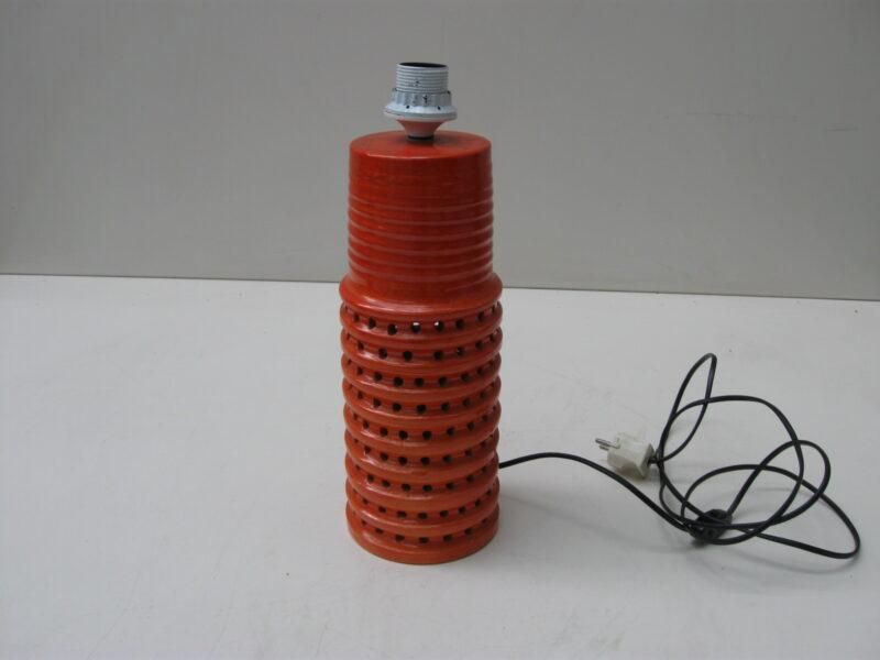 Mobach vintage aardewerk lampenvoet jaren 70