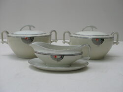 Jager porselein art deco servies