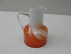 Vintage glazen karaf Murano Italië jaren 70