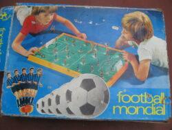 Vintage football mondial Fusball-Weltmeisterschaft 1974 vintage spel