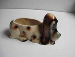 Jema keramiek plantenbak hond