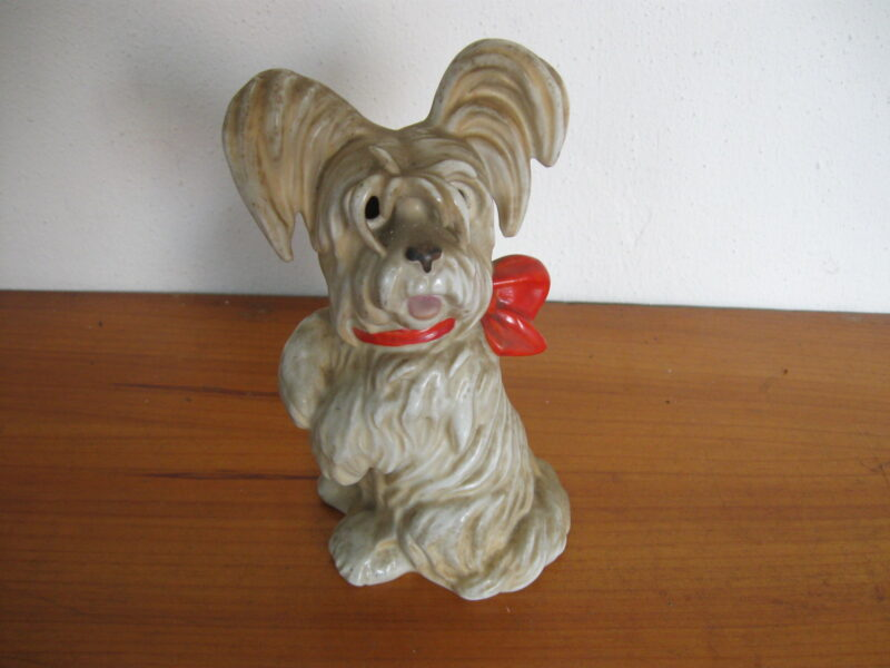 Goebel lamp terriër vintage Goebel porselein