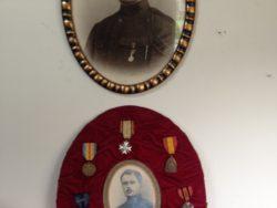 Medailles WO I België foto met WO I medailles