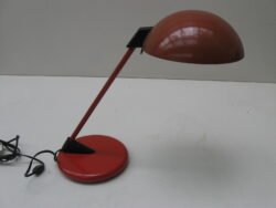 Vintage bureaulamp, tafellamp Underwriters laboratories portable lamps jaren 60