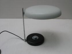 Vintage design tafellamp, bureaulamp metaal jaren 60-70