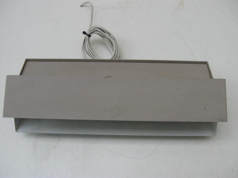 Herda vintage wandlamp, bedlamp metaal jaren 60-70