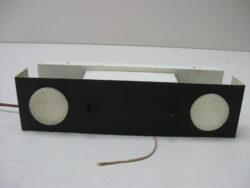 Vintage wandlamp bedlamp metaal jaren 60-70