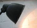 Vintage bureaulamp zwart metaal Helo Leuchten