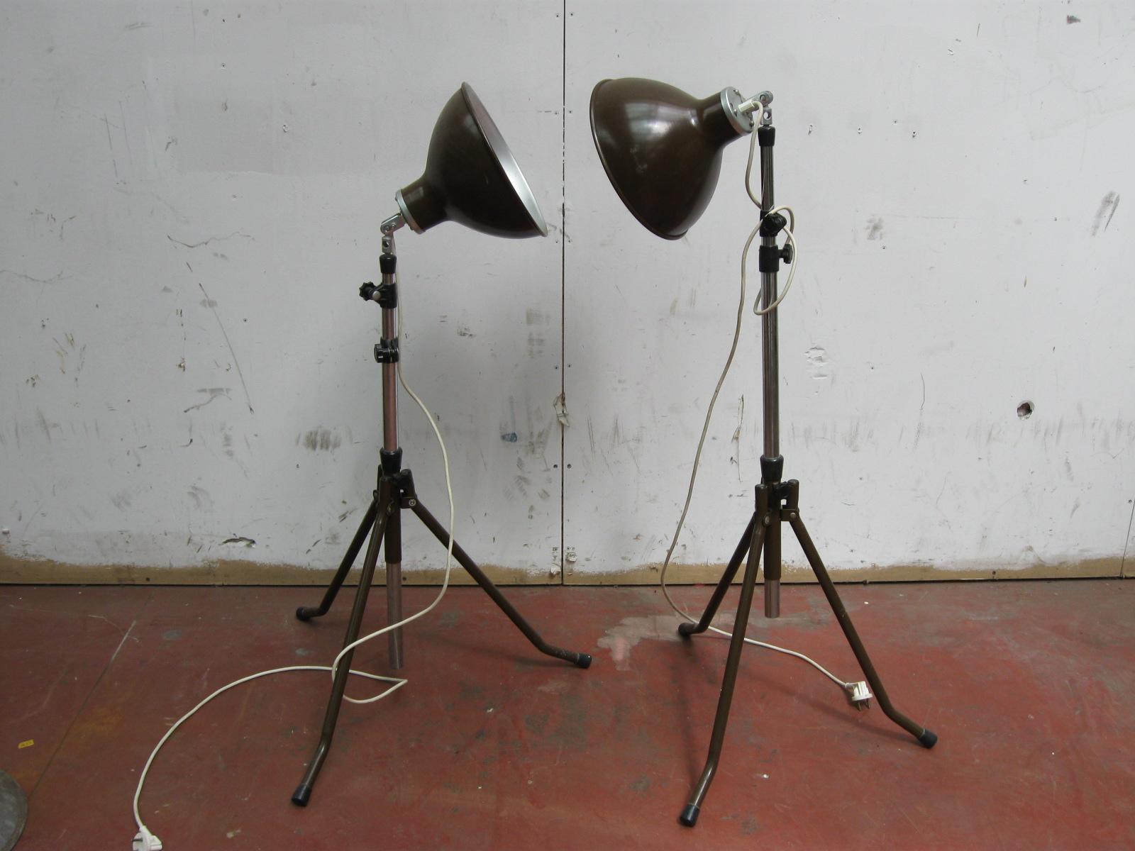 Vintage industri le fotograaf lampen cito metaal jaren 60 for Vintage lampen