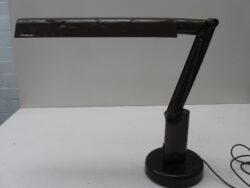 Fagerhults vintage plastic bureau lamp A&E design Zweden jaren 70