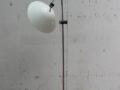 Vintage vloerlamp wit jaren 80