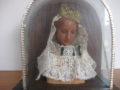 Maria madonna in was onder stolp