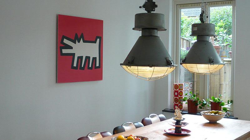 Industriële lampen verkrijgbaar bij Landzicht Houtsberg