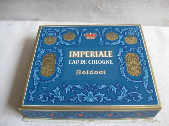 Boldoot Imperiale Eau de cologne en zeep in doos jaren 60
