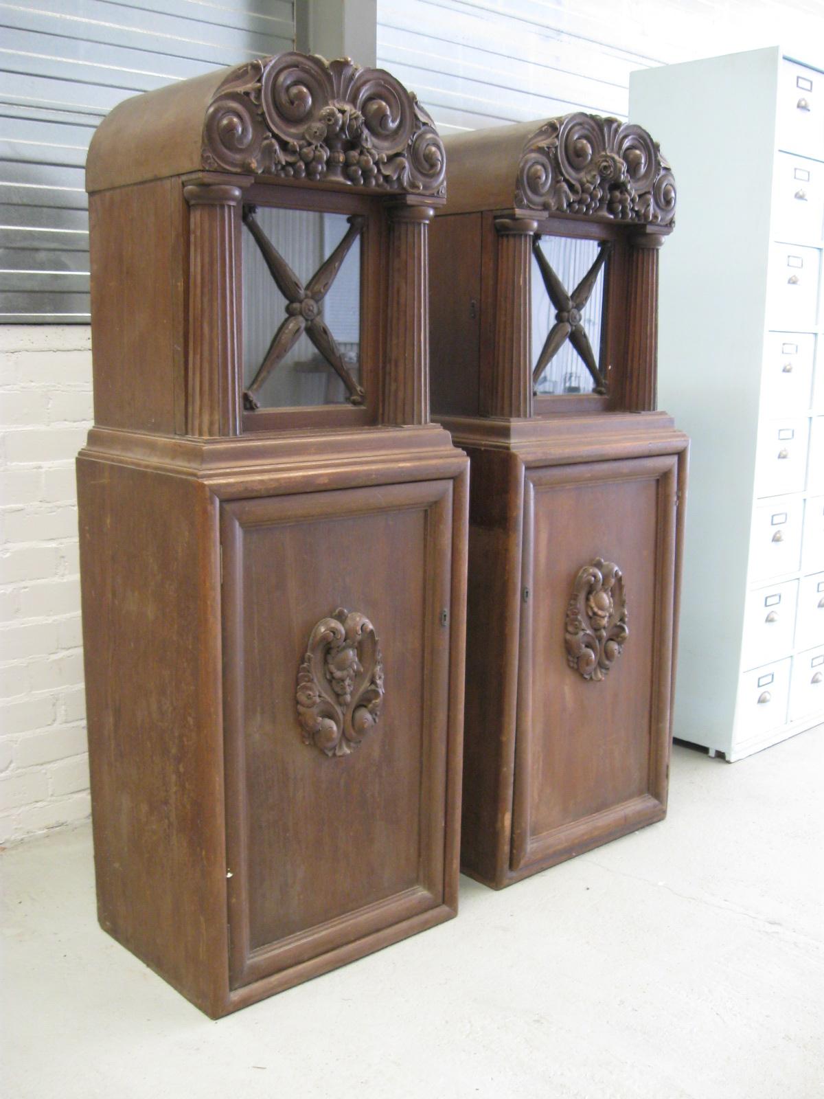Antieke Vitrinekast Barok Kast Kasteel Kast No 215