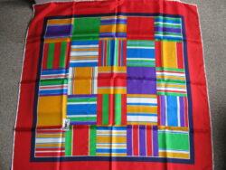 YSL Yves Saint Laurent zijden sjaal