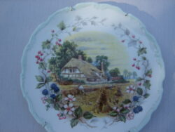 Royal Albert bone china England wandbordje The cottage garden year series Autumn 1984.