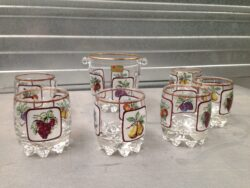Lubiana kristal glas made in Italy