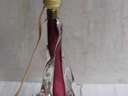 Val St. Lambert glas lampenvoet