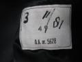 Brandweer jas, vintage brandweer jas., winterjas