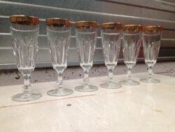 Murano glas, vintage glas, wijnglazen