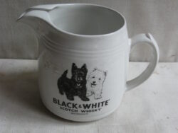 """Scotch Whisky Black & White """"Buchanan's"""" schenkkan"""