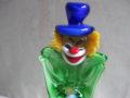 Murano clown glas