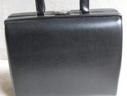 Vintage beautycase zwart jaren 60