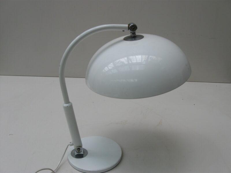 Hala bureaulamp, tafellamp metaal jaren 60-70