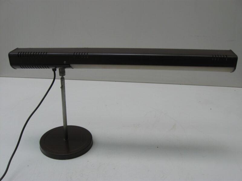 Vintage bureaulamp, tafellamp metaal en plastic jaren 60-70