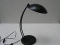 Vintage bureaulamp zwart metaal