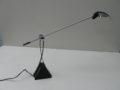Vintage bureaulamp metaal met plastic jaren 80 halogeen