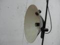 Vintage vloerlamp jaren zwart jaren 80 design lamp