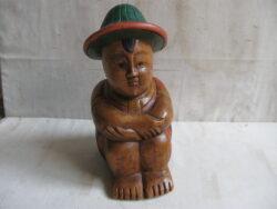 Indonesische beelden hout Asia-art boeddha