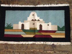Kelim kleed Tunesië 1968 handgemaakt